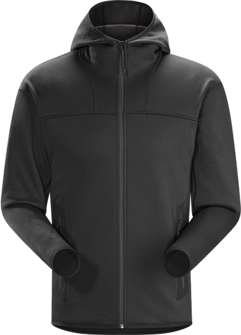 Arc'teryx LEAF Men's Naga Hoody Full Zip - Black