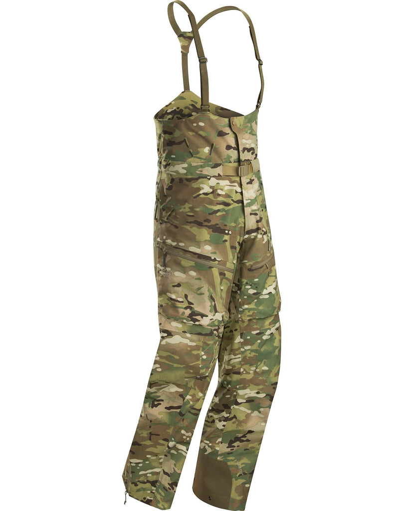 Arc'teryx LEAF Men's Alpha Bib Pant Gen 2 - Multicam