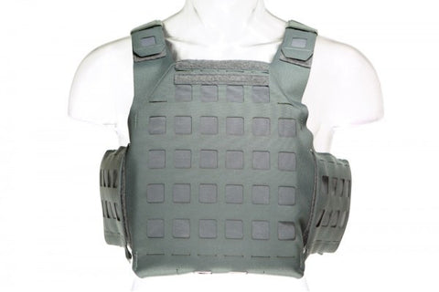 Blue Force Gear PLATEminus V2 Plate Carrier Medium - Wolf Grey (DISCONTINUED)