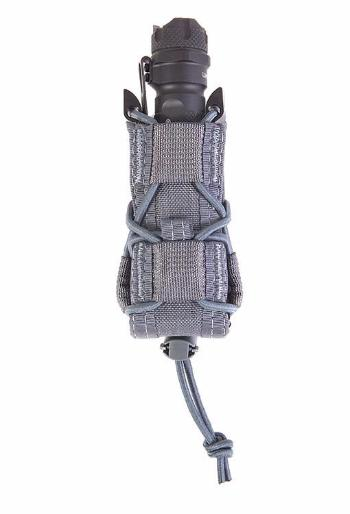 High Speed Gear Belt Mounted Pistol TACO Pouch - Wolf Gray