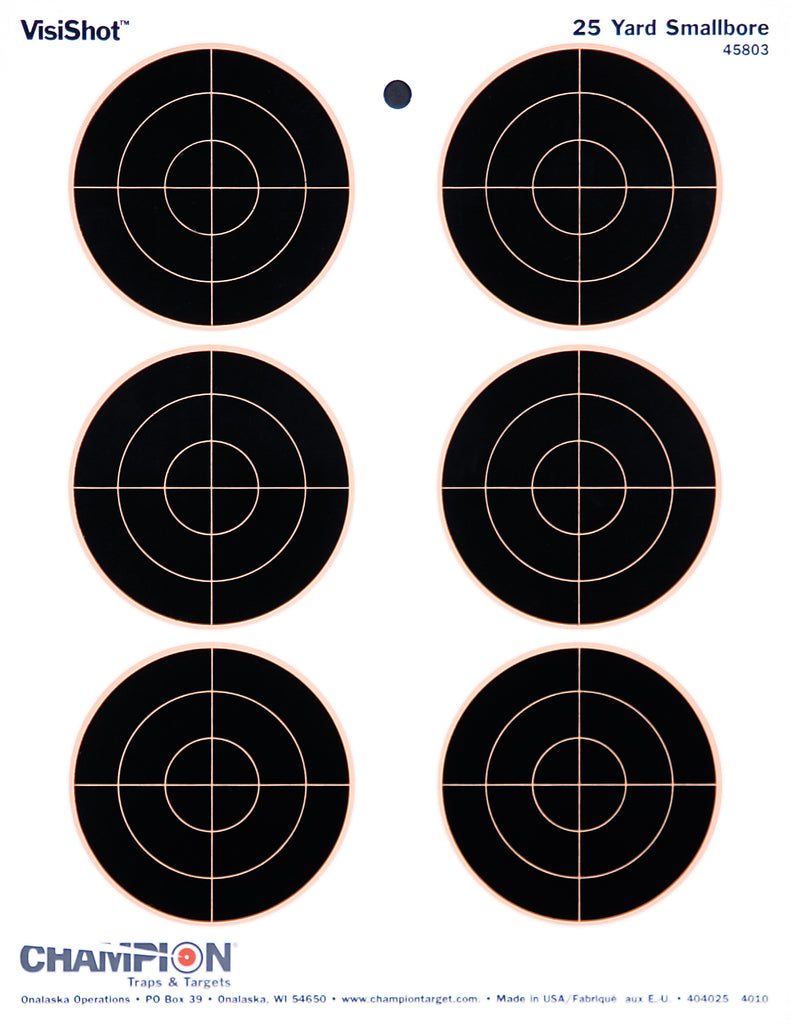 Champion Visicolor Targets