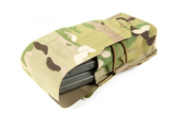 Blue Force Gear Helium Whisper Double M4 Magazine Pouch - Multicam