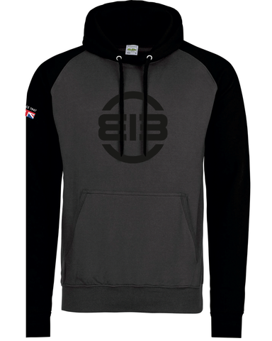 Edgar Brothers Grey Black Hoody Limited Edition