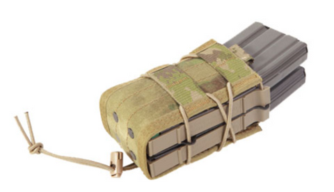 High Speed Gear X2R TACO MOLLE Double Rifle Magazine Pouch Multicam