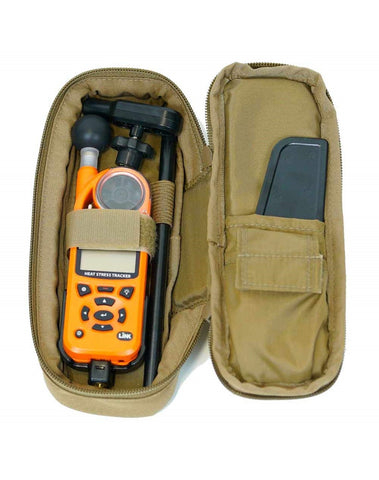 Kestrel 5000 Series Black Rotating Vane Mount and Tactical MOLLE Carry Case, Series, Berry Compliant
