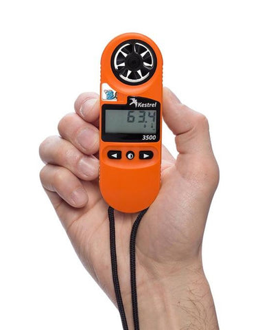Kestrel 3500FW Fire Weather Meter Orange