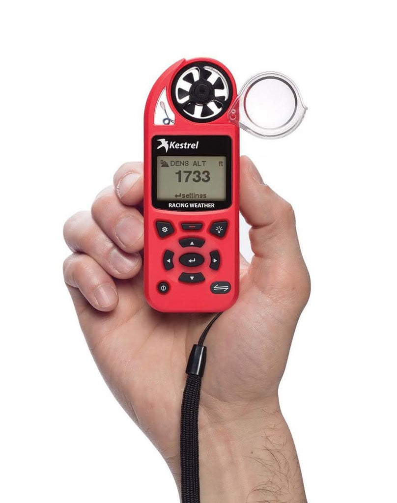 Kestrel 5100 Racing Weather Meter Racing Red