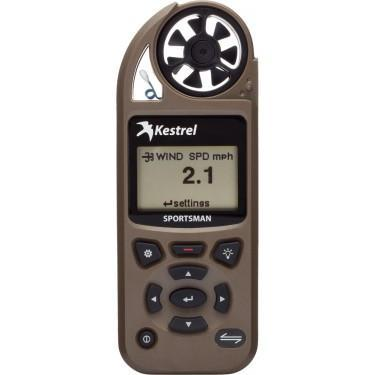 Kestrel Sportsman Weather Meter with Applied Ballistics Coyote Brown