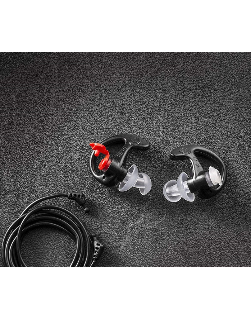 Surefire EP4 Sonic Defenders® Plus Filtered Flanged Earplugs - Black