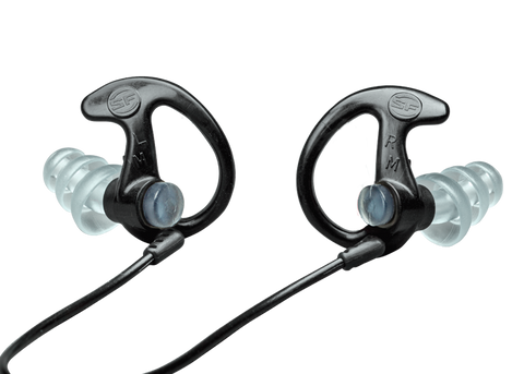 Surefire EP3 Sonic Ear Defenders - Clear