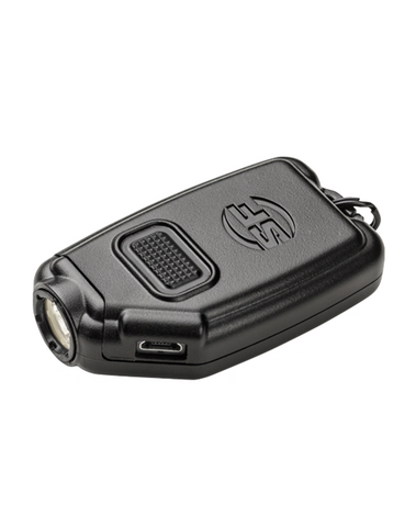 Surefire Sidekick Ultra-Compact Variable-Output LED Flashlight Torch - Black