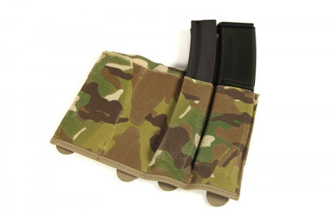 High Speed gear Belt Mounted Pogey Pouch Black