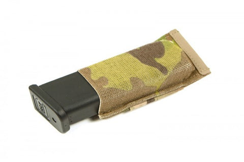 High Speed Gear Belt Mounted Extended Pistol TACO Pouch Black
