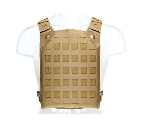 Blue Force Gear PLATEminus V3 Plate Carrier Medium - Coyote Brown