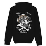 Rum Knuckles & Edgar Brothers Collaboration Hoodie - Black