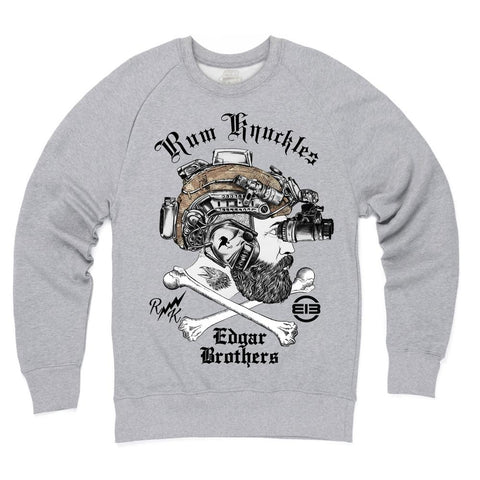 Rum Knuckles & Edgar Brothers Collaboration T-Shirt - Black