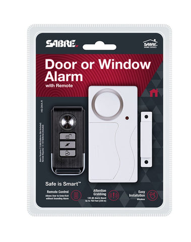 SABRE Door/Window Alarm with Remote (DISCONTINUED)