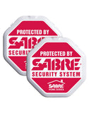 SABRE Window Glass Alarm, 2-Pack (DISCONTINUED)