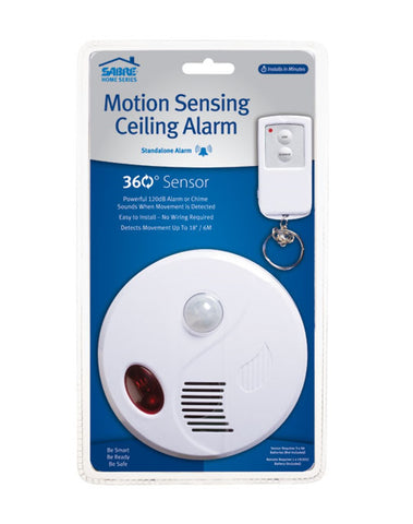 SABRE Wireless Motion Sensor Detector Alarm