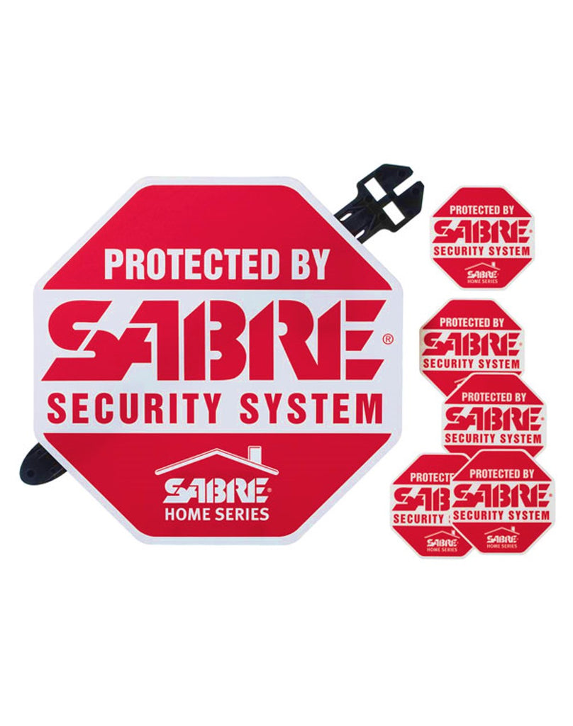 SABRE Yard Sign & Security Decals (DISCONTINUED)