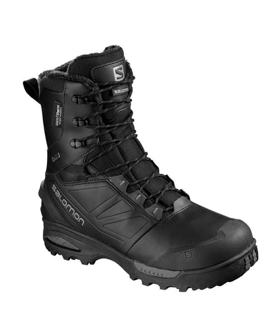 Salomon Forces Toundra Mid Winter Snow Boots - Black (DISCONTINUED) Last Few Sizes