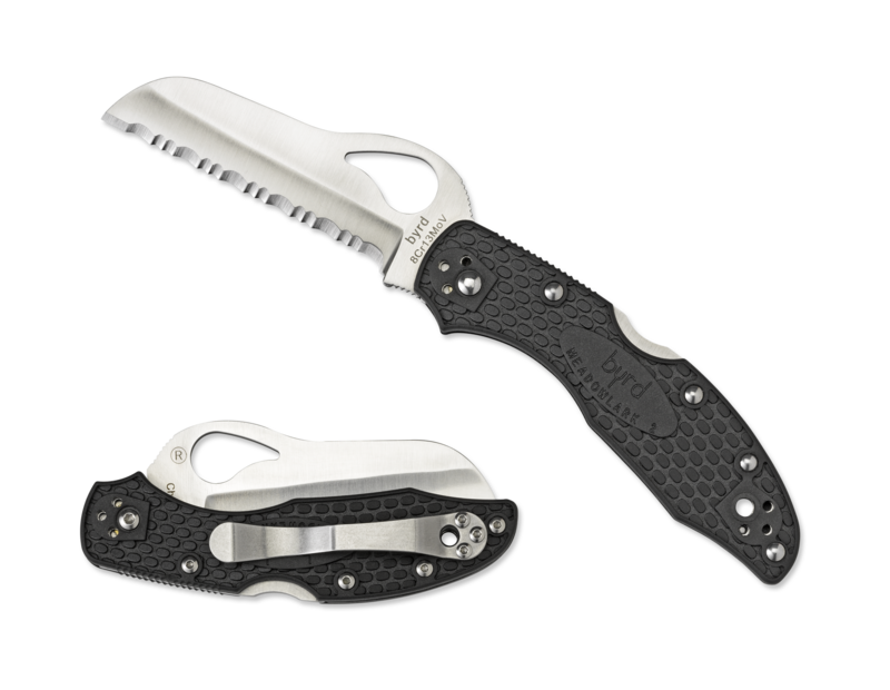 Spyderco Byrd Meadowlark™ 2 Rescue SpyderEdge FRN Handle Knife