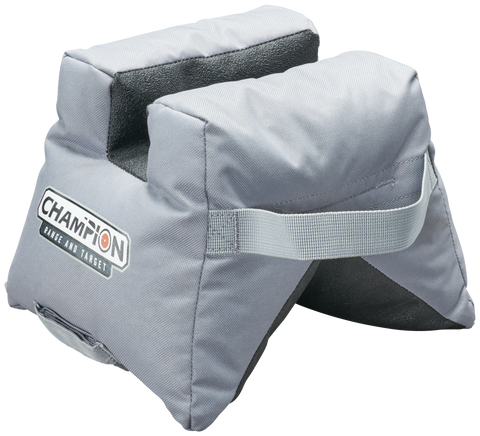 Champion Front Shooting Bag Grey V-Bag Hang Tag E/F