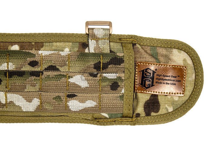 High Speed Gear SureGrip Padded MOLLE / PALS Belt MultiCam