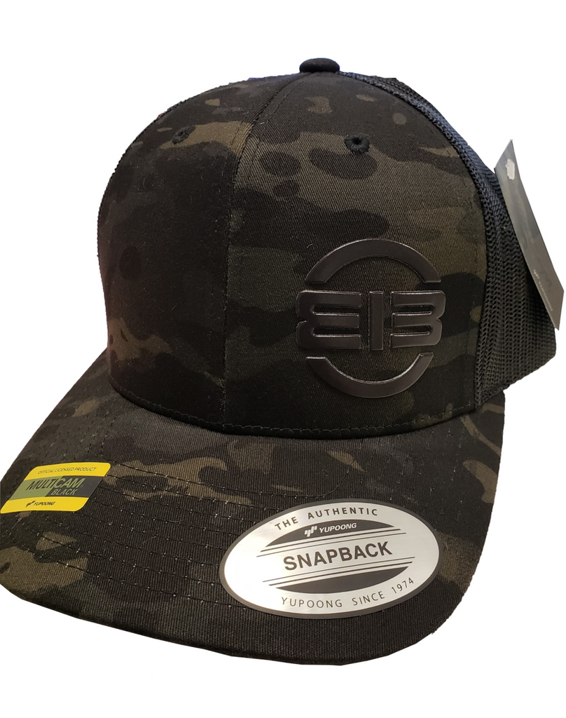 Flexfit Cap Edgar Brothers Flag MultiCam Black