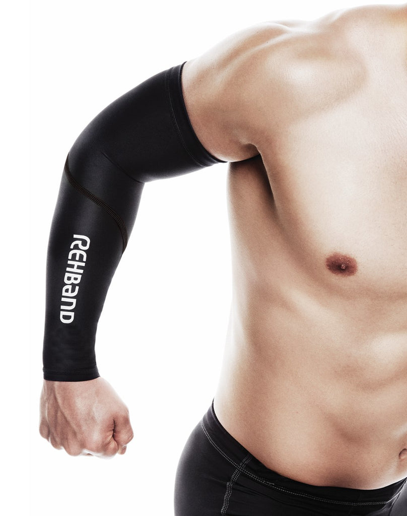 Rehband QD Compression Arm Sleeve S/M (Pair)