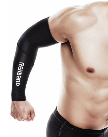 Rehband RX Knee Sleeve 7mm - Rich Froning Edition Black/Red (DISCONTINUED)