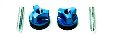Alum. Wing Bolt 1/4-20 Blue