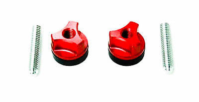 Wing Bolt Alum. 1/4-20 Red