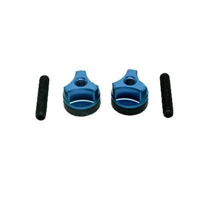 Steel Wing Bolts 6mm Blue