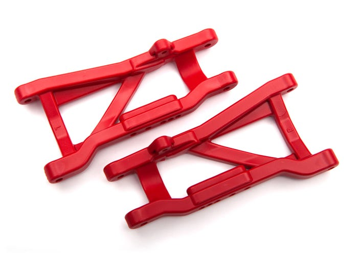 2555R Suspension arms, red, rear, heavy duty (2)