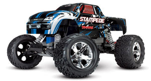 36054-1_BLUEX Stampede: 1/10 Scale Monster Truck BlueX