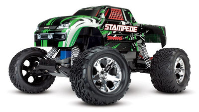 36054-1_GRN Stampede: 1/10 Scale Monster Truck Green
