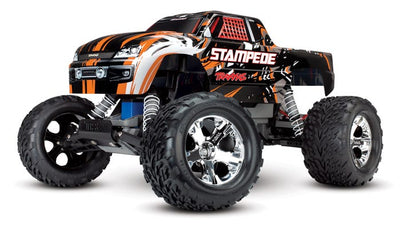 36054-1_ORNG Stampede: 1/10 Scale Monster Truck Orange