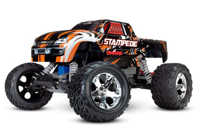36054-4_ORNG Stampede: 1/10 Scale Monster Truck Orange