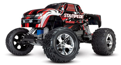 Stampede®: 1/10 Scale Monster Truck with TQ 2.4GHz radio Red