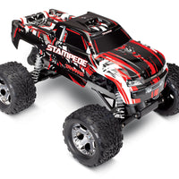 Stampede: 1/10 Scale Monster Truck Red