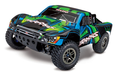 68077-4_GRN Slash 4X4 Ultimate Edition: 1/10 Scale 4WD Electric Short Course Truck Green