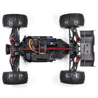 1/8 KRATON 6S V5 4WD BLX Speed Monster Truck with Spektrum Firma RTR, Red