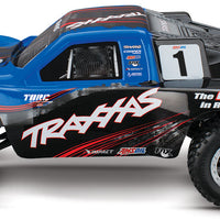 Slash 2WD VXL Brushless RTR with TSM Blue