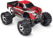 67054-1_RED Stampede Brushed 4X4: 1/10-scale Red