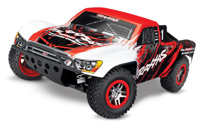 68086-4_RED Slash 4X4: 1/10 Scale 4WD Brushless Red