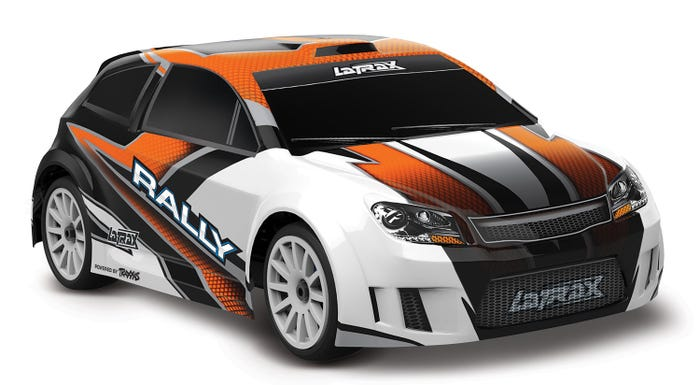 75054-5_ORNG LaTrax 1/18 4WD Rally Car RTR Orange