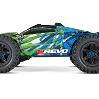 E-Revo V2 Green 4wd Brushless