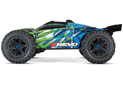 86086-4_GRN E-Revo V2 Green 4wd Brushless