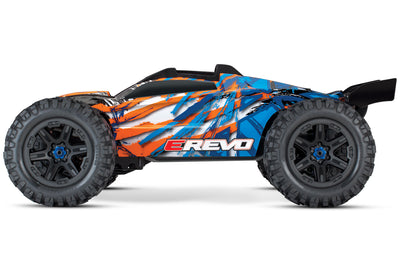 E-Revo V2 Orange 4wd Brushless Monster Truck